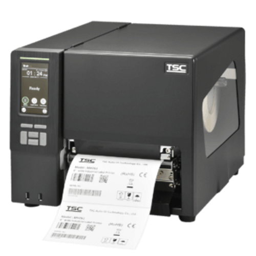 """TSC MH261T 6.61"""" 203 dpi 12 ips Industrial Thermal Transfer Label Printer MH261T-A001-0301"""
