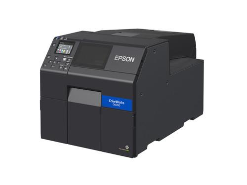 "Epson ColorWorks CW-C6000A Gloss Colour Inkjet Label Printer Autocutter 4"""