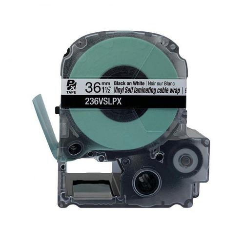 "Epson/K-SUN 236VSLPX  PX Label Tape 1-1/2""/36MM Self Laminated Tape"