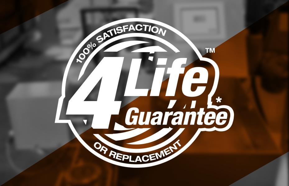 4Life Guarantee - 100% Satisfaction or Replacement