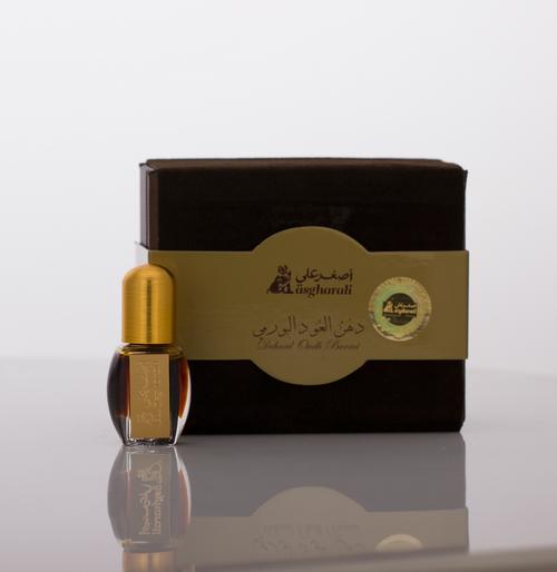 Dehn Al Oud Burmi by AsgharAli from Bahrain - AttarMist.co.uk Packed in an exquisite box