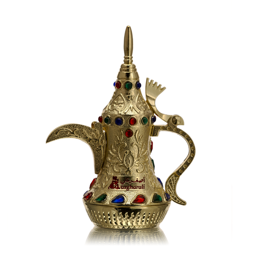 Muheeb Attar 12ml coffee pot by AsgharAli - AttarMist.co.uk