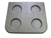 Master Spa - X278924 - Filter Lid - Down East Single Filter Lid (X278924) - Top View