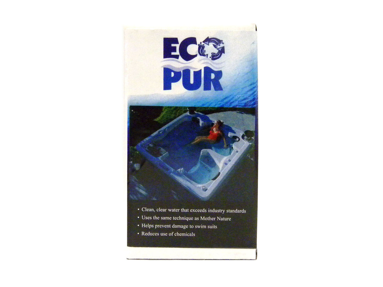 Master Spa - X268056 - PMAEP1 - Eco Pur Mineral Filter Insert - Side View with Packaging
