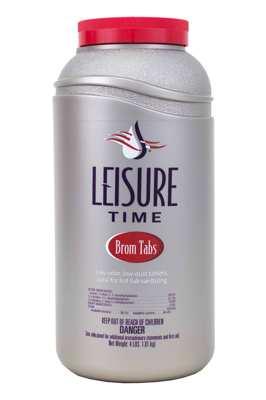 Master Spa - Leisure Time - Brom Tabs 4lbs - Side View