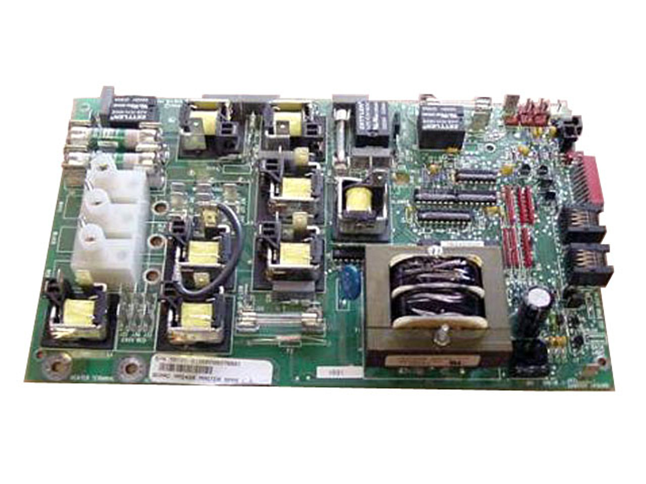 Master Spa - X801010 - Balboa Equipment MAS400 PC Circuit Board - Front View