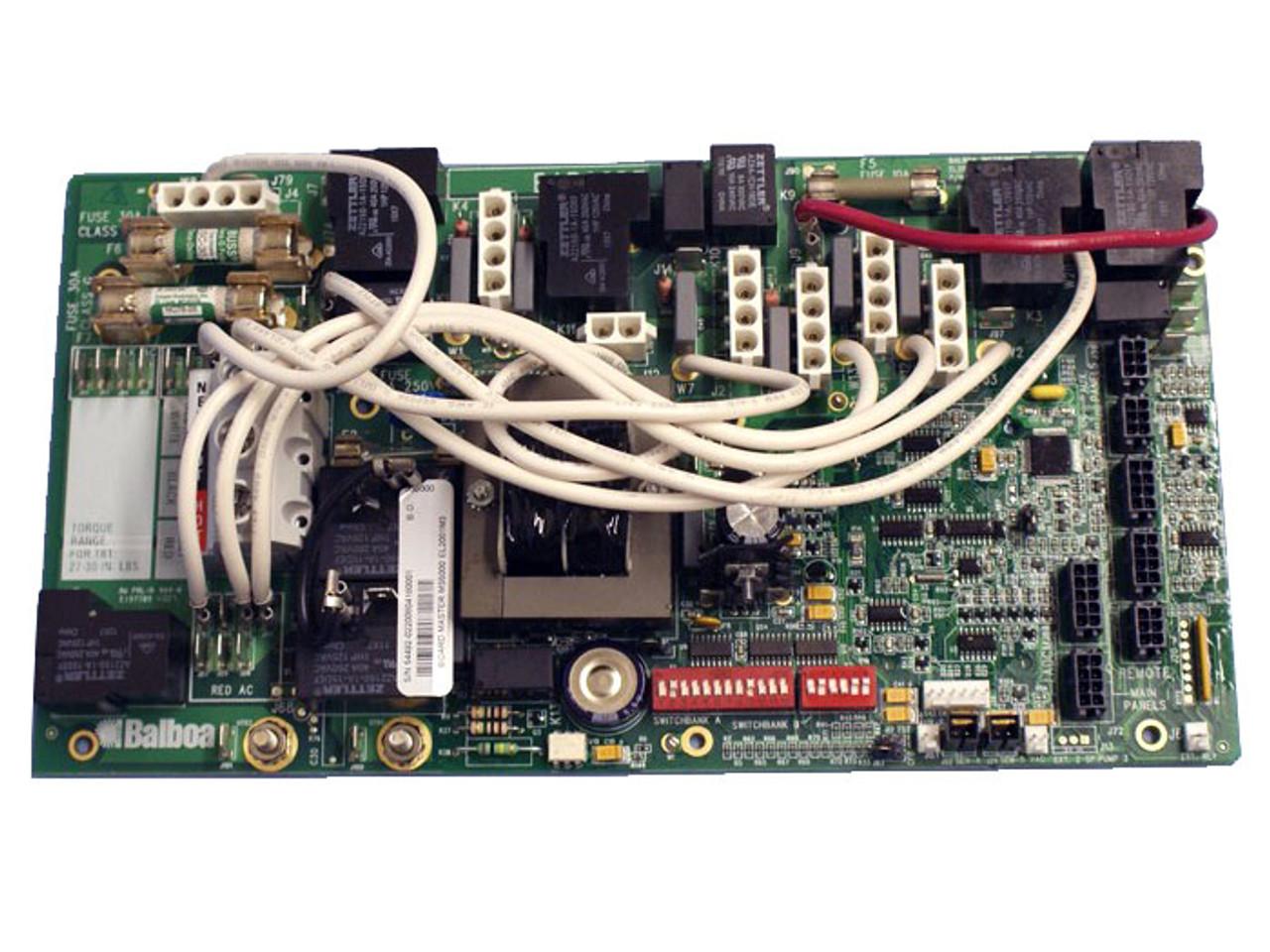 X801095 - Balboa Equipment MS5000 PC Board Starting 2006 on spa diagram, balboa control diagram, balboa control panel, balboa schematic, balboa heater,