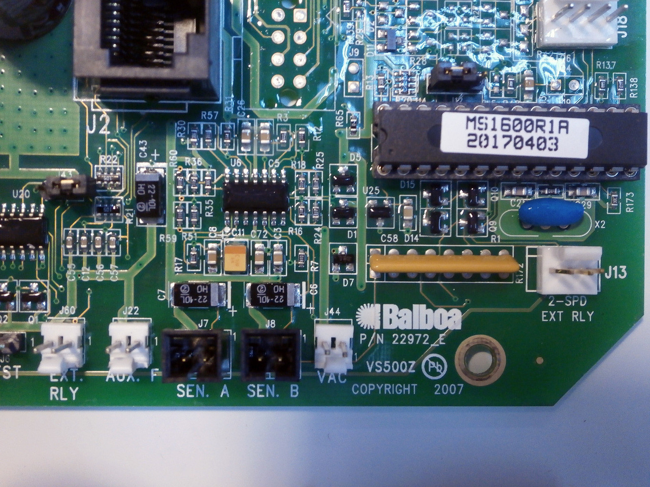 X801115 - Detail View