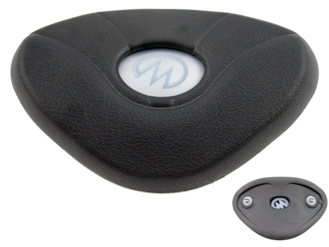 Master Spa - X540763 - MP Legend Pillow Charcoal w/Dome - Front View
