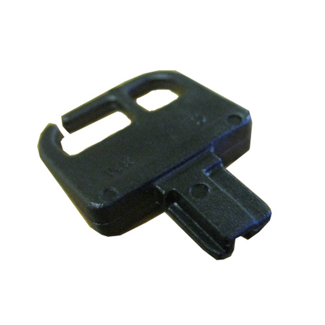 Master Spa - X900104 - Black Master Cover Lock Key - Front View