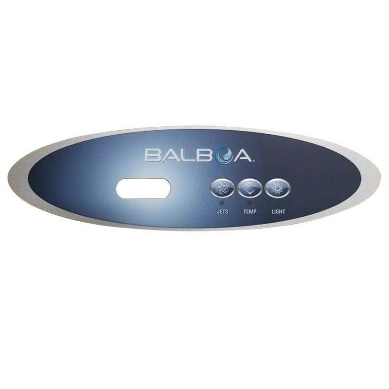 Master Spa - X509142 - Overlay, Balboa 3 Button - F/MVP  - Front View