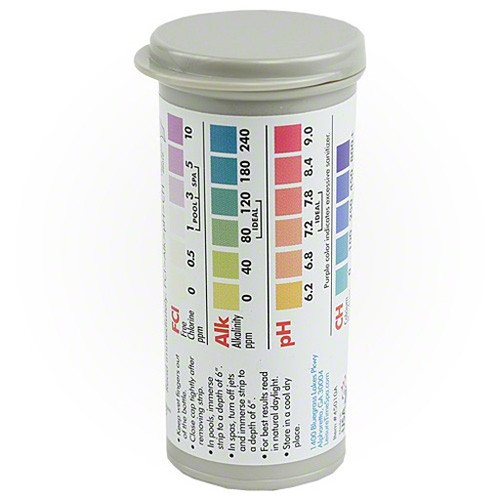Master Spa - Leisure Time - Test Strips - Chlorine - Demo View