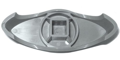 Master Spa - X245366 - 1 inch T Grey Diverter Handle 2005-2007 (for 1 inch Inside Diameter Plumbing) - Rear View