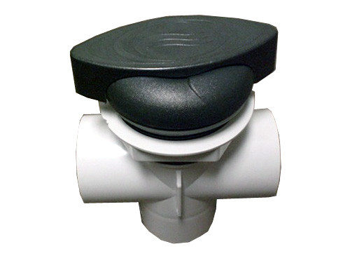 Master Spa - X245385 - DSG 2 inch T Handle Diverter (Starting 2010) - Side View