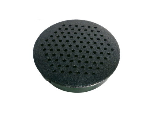 Master Spa - X274110 - Skirting Parts 3 inch Round Black Vent - X274110 - Top View