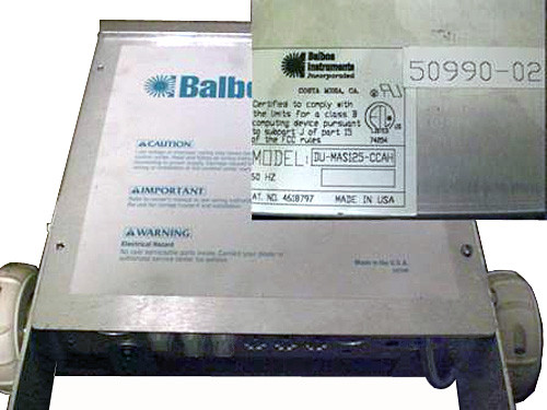 Master Spa - X300400 - Balboa Equipment MAS125 System Control Pack