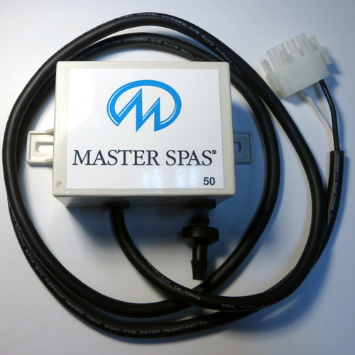 Master Spa - X320065 - 240V Ozone Generator w/ Check Valve & MS Logo - Top View