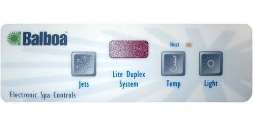 Master Spa - X505450 - Generic 225 LED 1 Jet Overlay