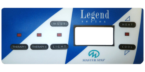 Master Spa - X506100 - Legend Series Overlay - Front View