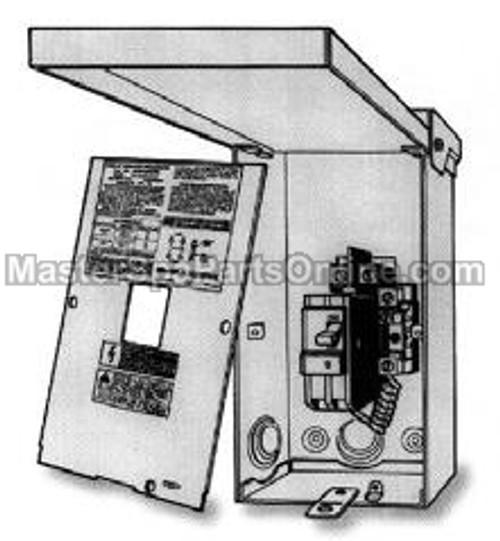NLA X619550 - GFCI Box w/ Breaker NLA