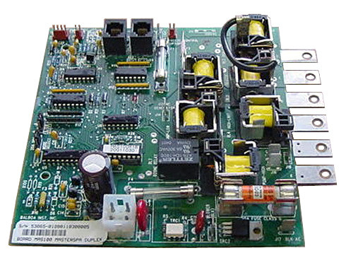 Master Spa - X800600 - Balboa Equipment MAS100 PC Circuit Board - Front View