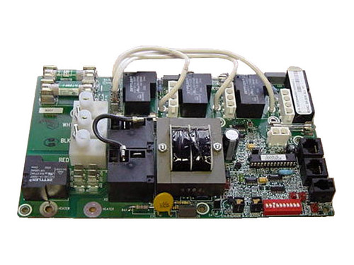 Master Spa - X800960 - Balboa Equipment MAS260 PC Circuit Board - Front View