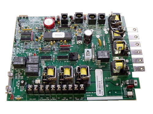 Master Spa - X801020 - Balboa Equipment MAS500 PC Circuit Board - Front View