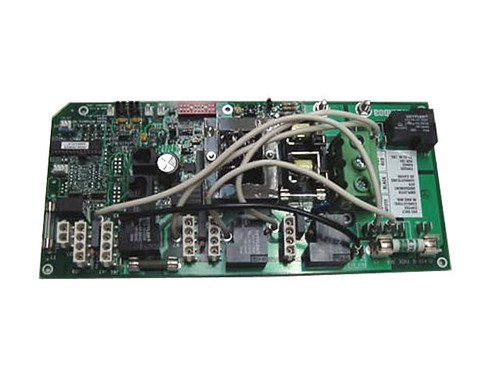Master Spa - X801035 - Balboa Equipment MS501M2 PC Circuit Board for 2006 LSI LSX557 & H2X - Front View