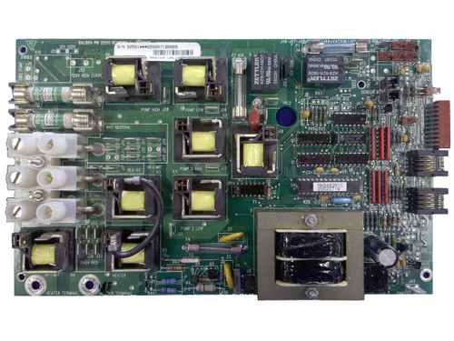 Master Spa - X801040 - Balboa Equipment MAS460 PC Board - Front View