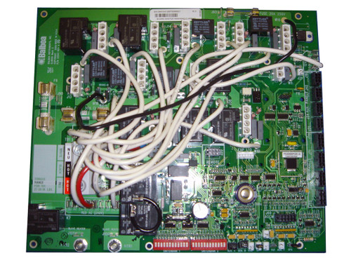 Master Spa - X801070 - Balboa Equipment MS8000 PC Board - Front View