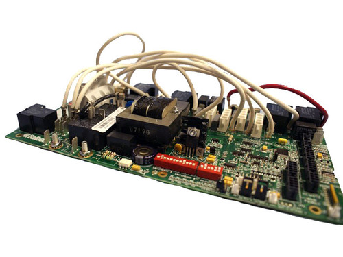 Master Spa - X801095 - Balboa Equipment MS5000 PC Board Starting 2006 - Side View