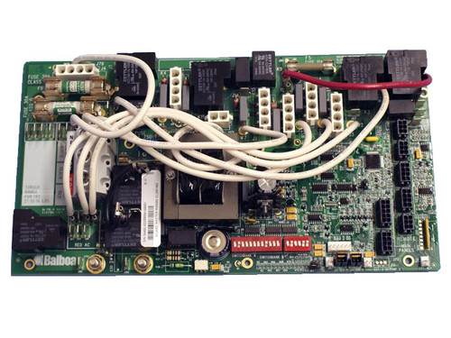 Master Spa - X801095 - Balboa Equipment MS5000 PC Board Starting 2006 - Front View