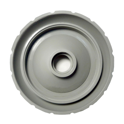 Master Spa - X804130 - Grey Diverter Cap 1999-2002 (for 2 inch Inside Diameter Plumbing) - Back View