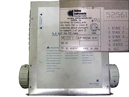 Master Spa - X300740 - Balboa Equipment MAS560 System Control Pack