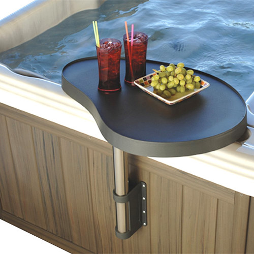 Master Spa - SpaCaddy - Hot Tub Spa Shelf by Leisure Concepts - Demo View