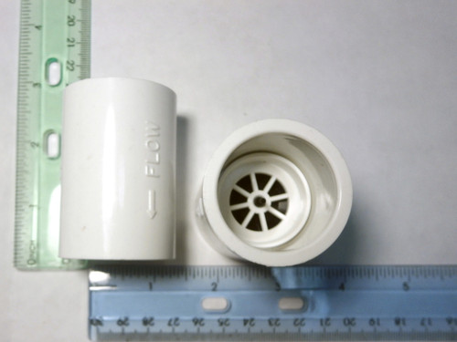Master Spa - X278400 - 1 inch Check Valve - Side View