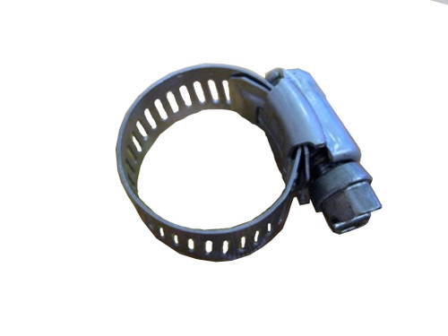 Master Spa - X281401 - Hose Clamp 9/16 X 1 1/16 Inch Stainless Steel  - Top View