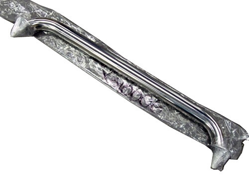 Master Spa - X510006 - 26.5 inch Stainless Grab Bar for RX (1 Stud) - Front View