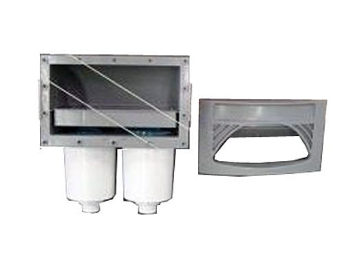 Master Spa - X804630 - 100 sq. ft Skim Filter Housing Gray - Top View