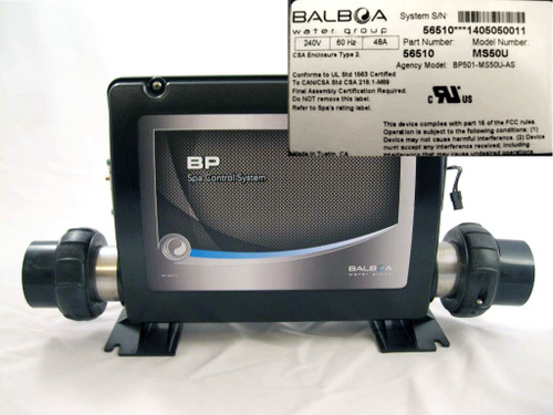 Master Spa - X300771 - Balboa Equipment MS50U (VERTICAL) System Control Pack