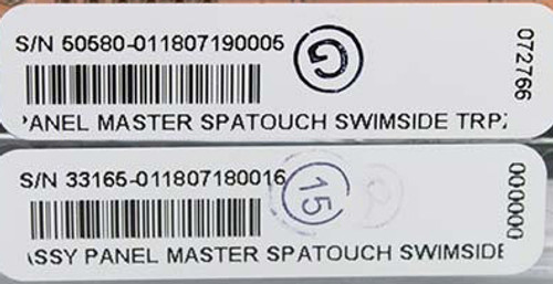 Master Spa - X310208 - Spa Touch Swim Side Control Panel