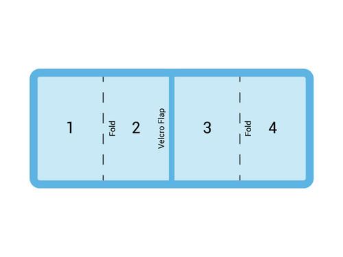 """13' x 7.5' Master Spa - Swim Spa Cover  (90"""" x 156"""")"""