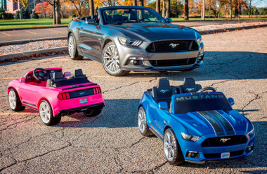 Power Wheels S550 Mustang, Traction and Stability Control.