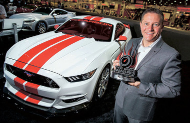 Mustangs wins SEMA Shows Hottest Car Award for Ford
