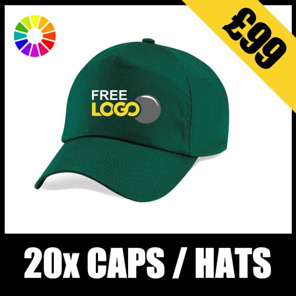 20x Core Caps