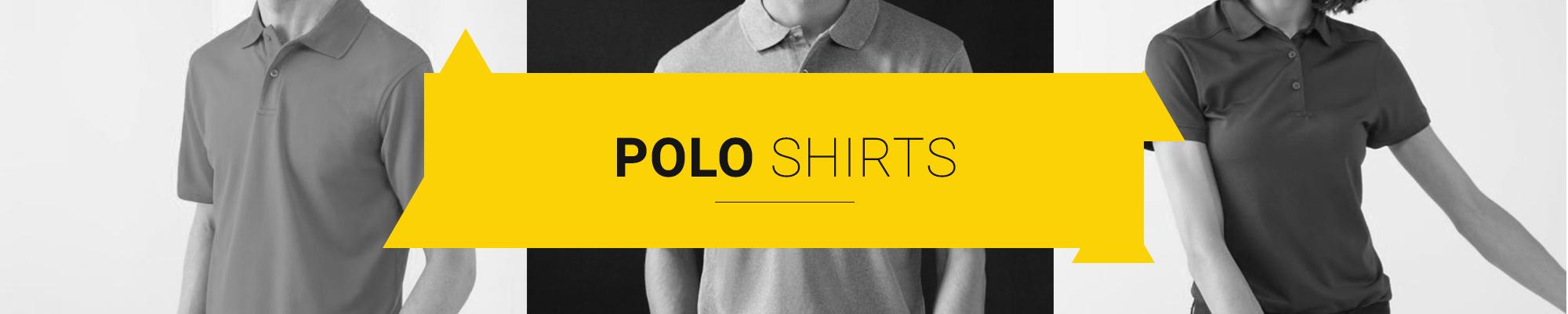 Polo Shirts Banner