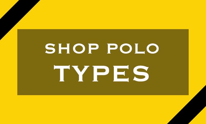 Polo Shirt Types