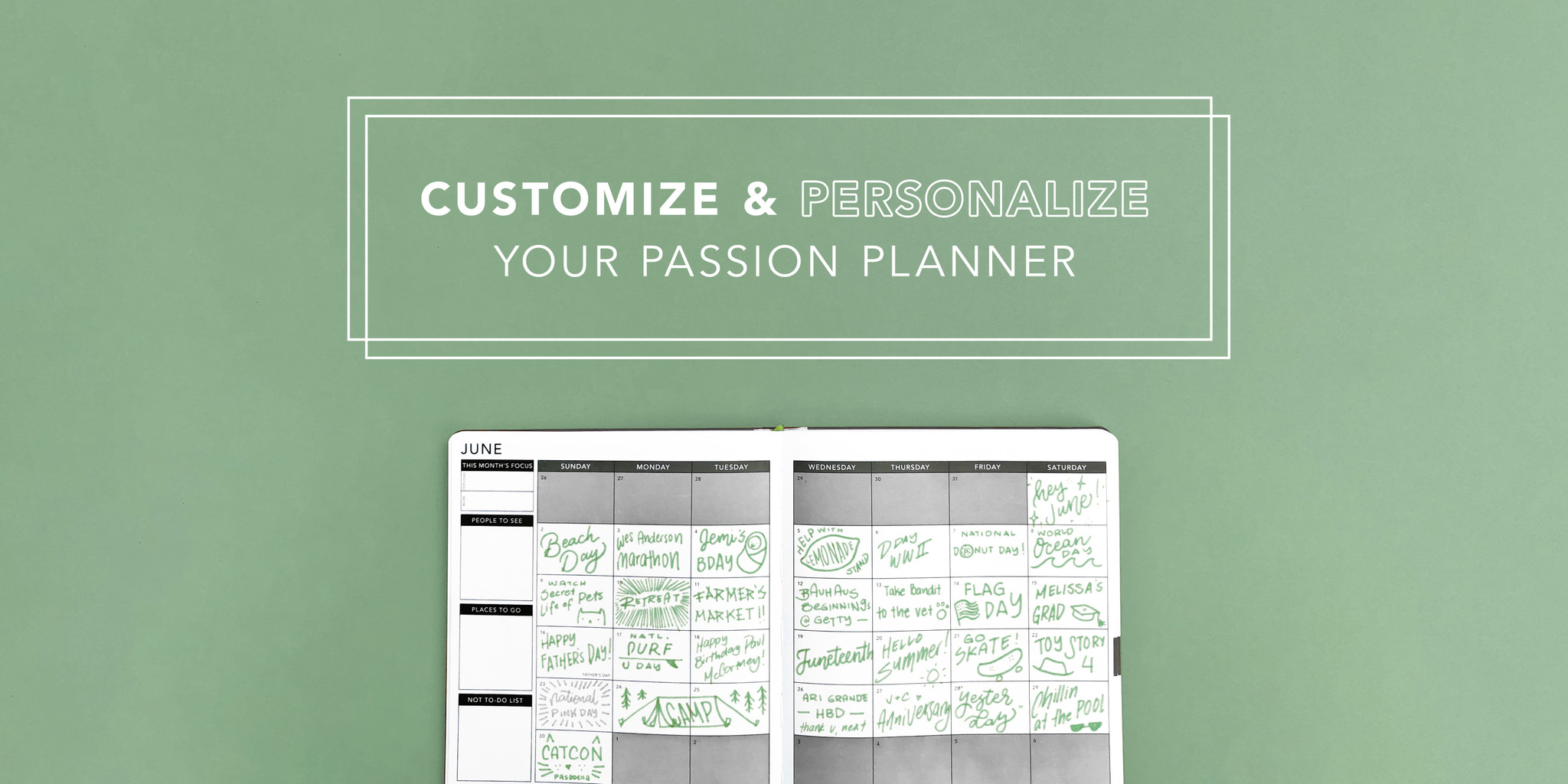 9 Tips to Customize and Personalize Your Passion Planner