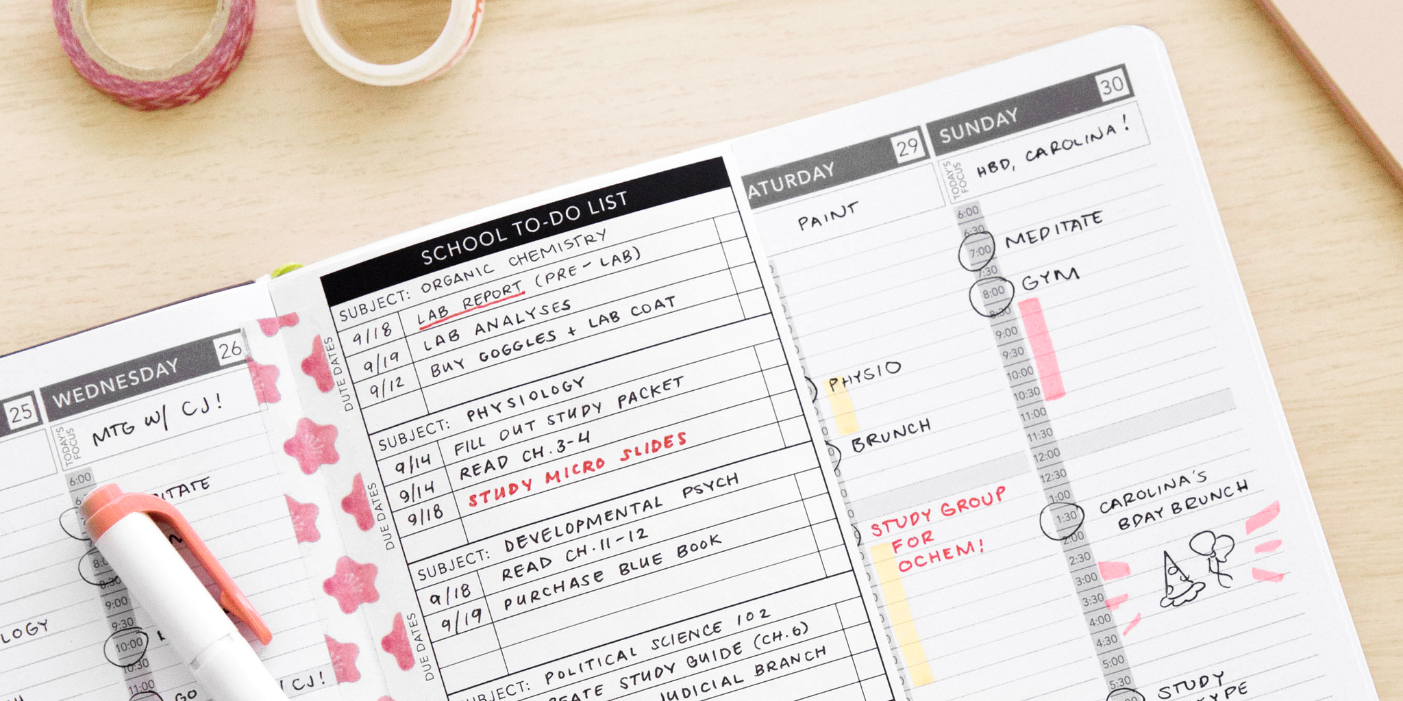 3 Tips to Achieve Academic Success with the Passion Planner