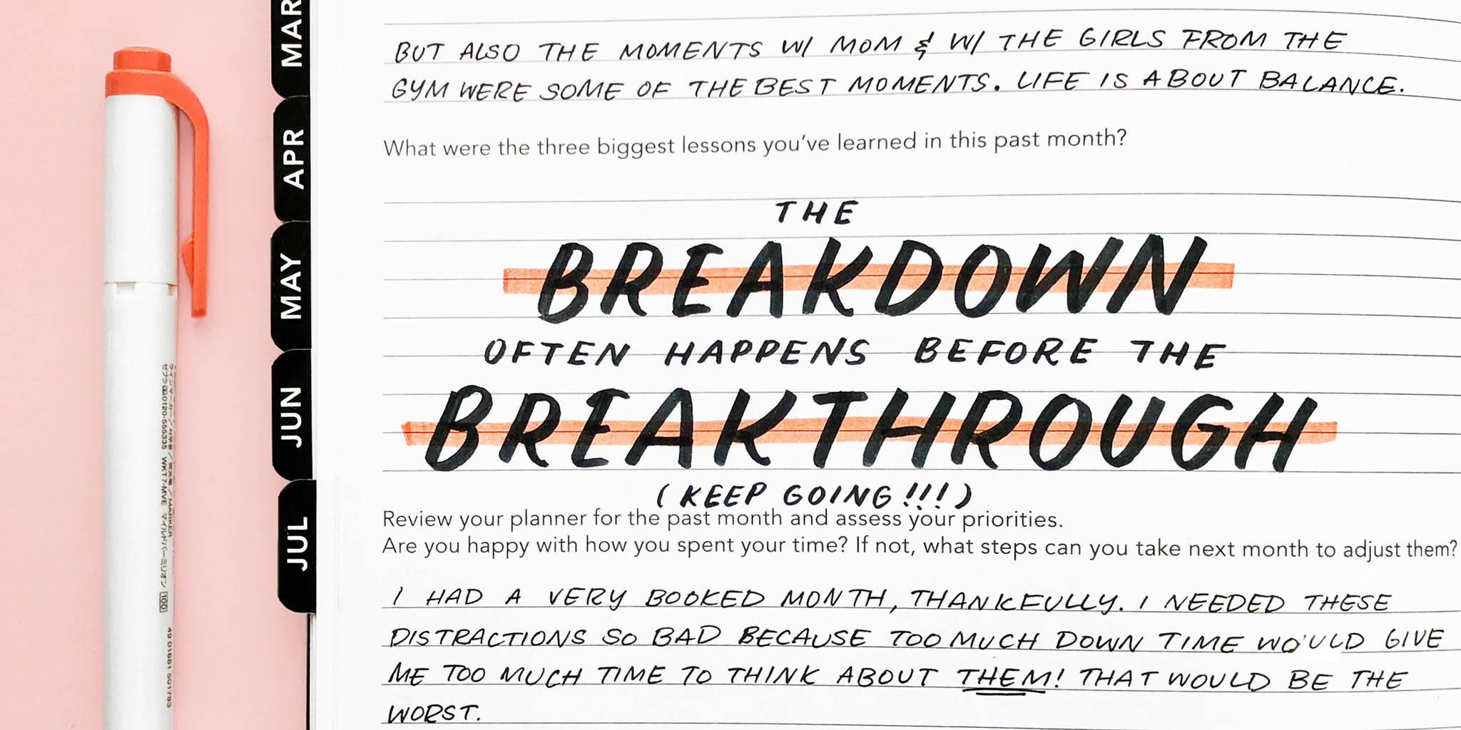 How to Use Your Passion Planner To Heal From a Breakup